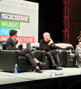 Allison Bechdel, Hinojosa & Joshua Oppenheimer at SXSW