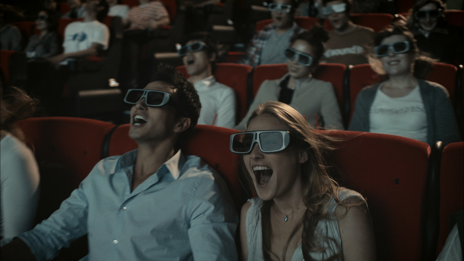 The 4D Stories being told by a screen - it's simply a change of medium, but the fascination and desire for this experience stays the same.